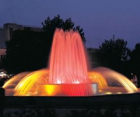 Oświetlenie Fontann Oświetlenie Dysz Fontannowych W Water